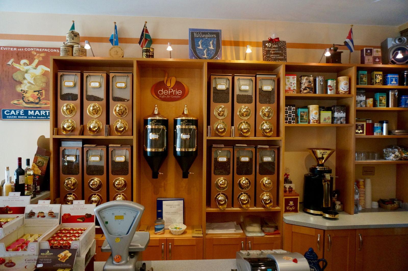 Frischer Kaffee und Espresso bei dePrie in Kühlungsborn