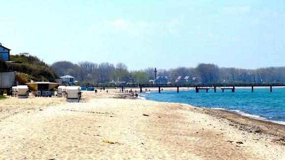 Seebrücke und Strand Rerik