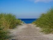 Rerik Zugang Strand Oktober
