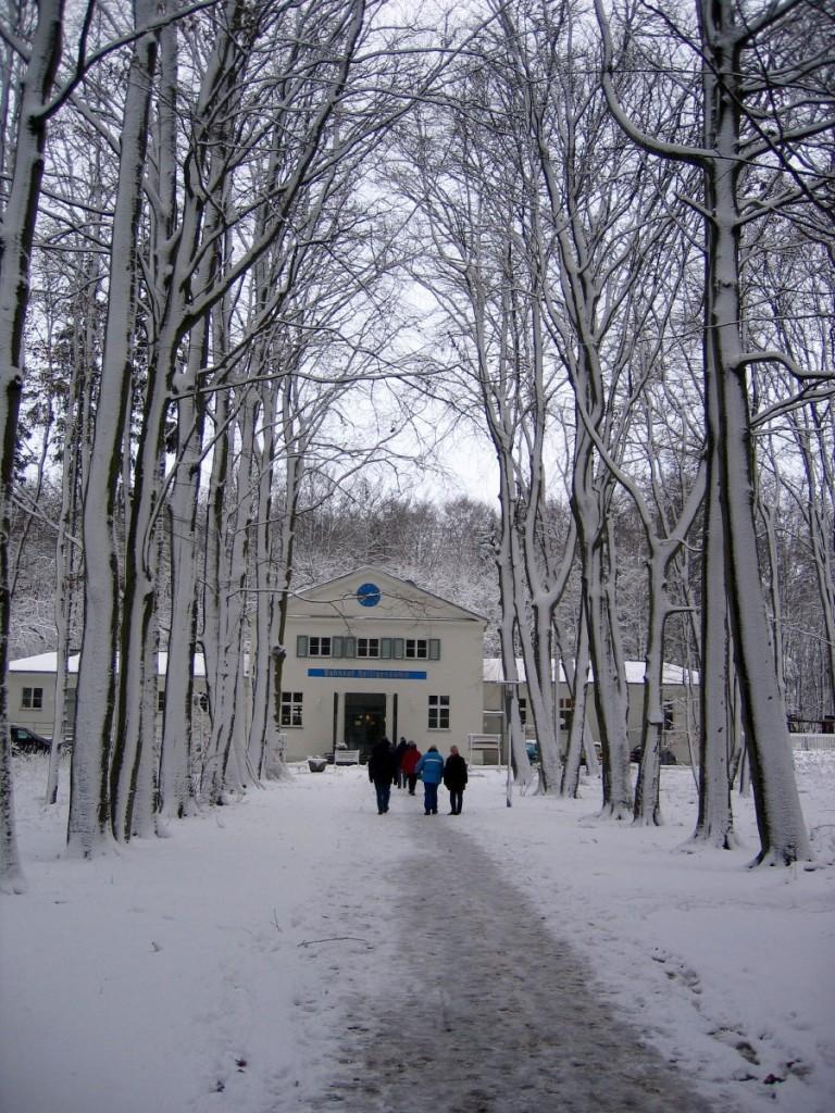 Der Bahnhof Heiligendamm im Winter