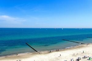 Blick auf die Ostsee aus dem Riesenrad