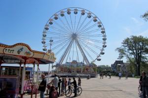 Das Riesenrad in Kühlungsborn West