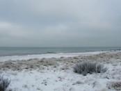 Der Strand von Kühlungsborn im Winter