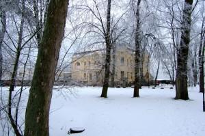 Die Villa Baltic in Kühlungsborn West im Winter