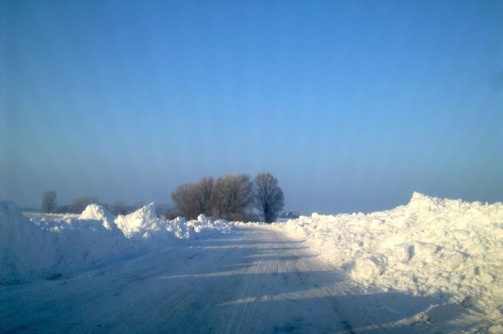 Ostsee Anreise mit Schnee