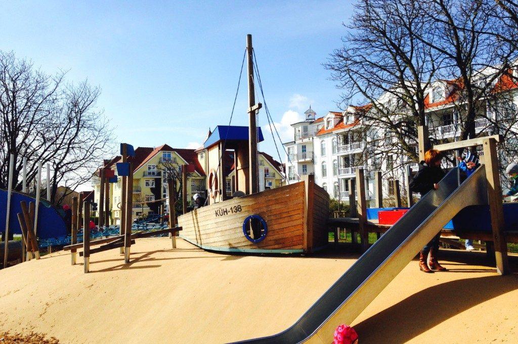 Kinderspielplatz in Kühlungsborn Ost