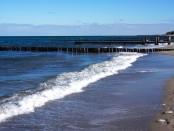 Der Strand von Kühlungsborn im April