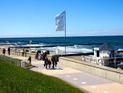 Strand Promenade Kühungsborn