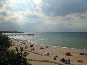 Sommer am Strand von Rerik