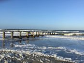 Kühlungsborn an der Ostsee im Winter