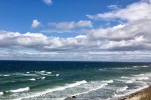 Meerblick von der Steilküste Rerik