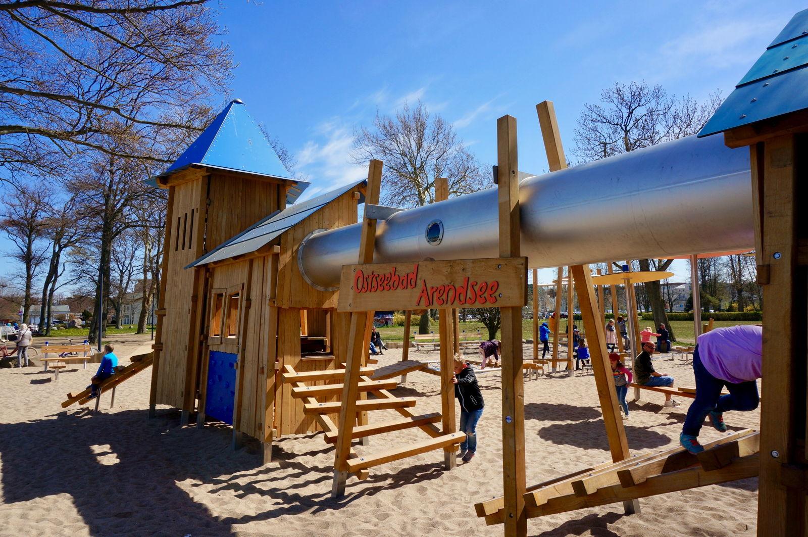 Neuer Spielplatz in Kühlungsborn West