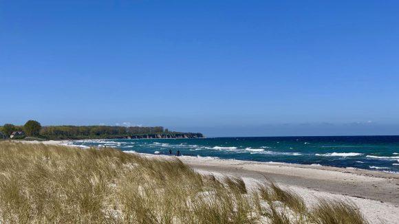 Strand von Rerik an der Ostsee